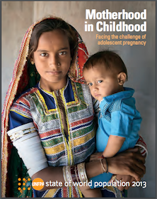 Motherhood in Childhood: Facing the challenge of adolescent pregnancy: UNFPA, 2013