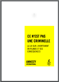 Ireland: Ce n'est pas une criminelle: Amnesty International, 2015