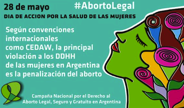 28 May International Day of Action for Women's Health