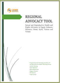 Middle East and North Africa: Sexual Reproductive Health and Rights Advocacy: DAWN, 2015