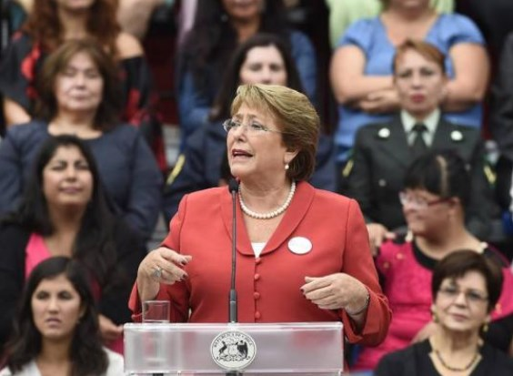 Chile Bachelet speech NL 10 Mar 2016