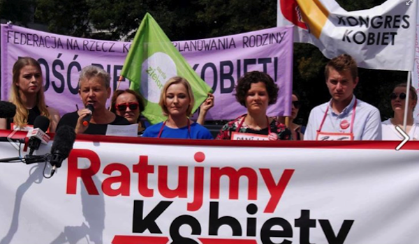 """Save the Women"" legal initiative tabled in Polish Parliament"