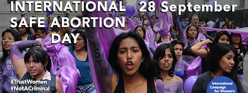 Campaign Statement in Celebration of International Safe Abortion Day