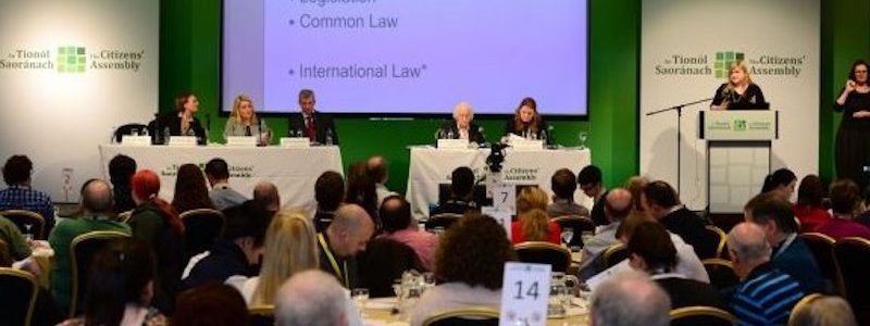 Irish Citizens' Assembly deluged with views on Constitutional reform