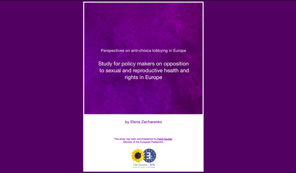 Perspectives on anti-choice lobbying in Europe