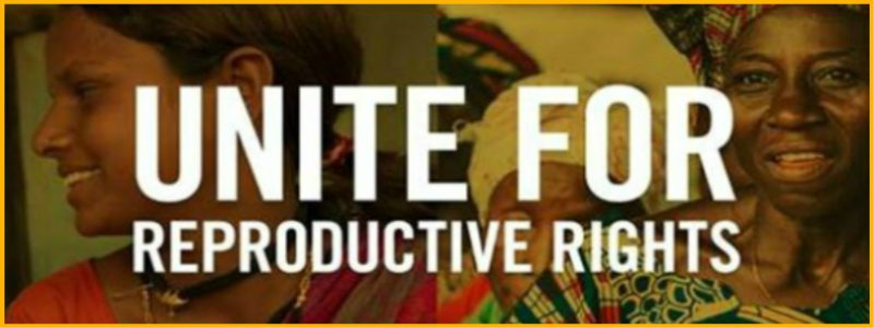 Unite for Reproductive Rights website launched!