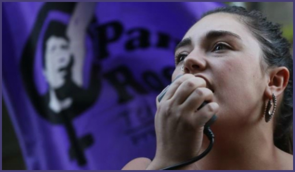 Chile-  Mobilisation against restrictions on the new abortion law