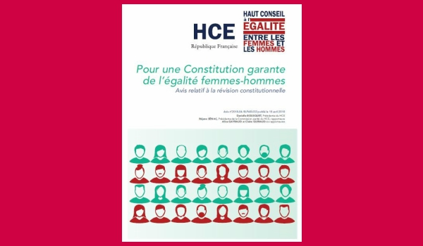 FRANCE: STOP PRESS – French High Council for Equality between Women and Men recommends a constitutional right to access contraception and abortion