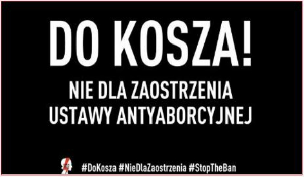 POLAND – Widespread opposition and condemnation again stops fundamentalist politicians from punitive law reform