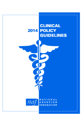 Clinical Policy Guidelines: NAF, 2014