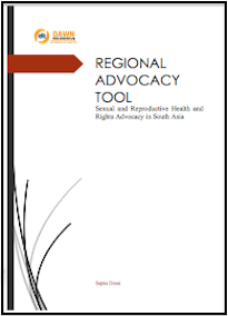 South Asia: Sexual Reproductive Health and Rights Advocacy: DAWN, 2015