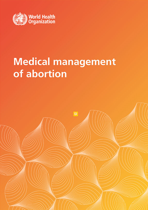 Medical management of abortion resource cover